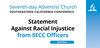 545257 web graphic   statement against racial injustice